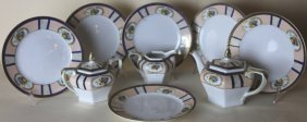 Noritake Porcelain Partial Grouping