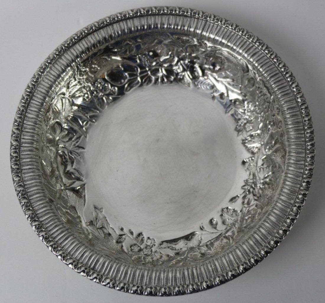 S. KIRK & SON STERLING SILVER LARGE REPOUSSE BOWL
