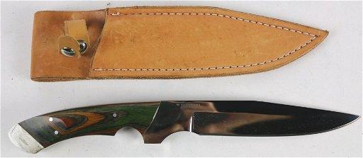 W  BARMINSKI ARIZONA CUSTOM KNIFE & SHEATH