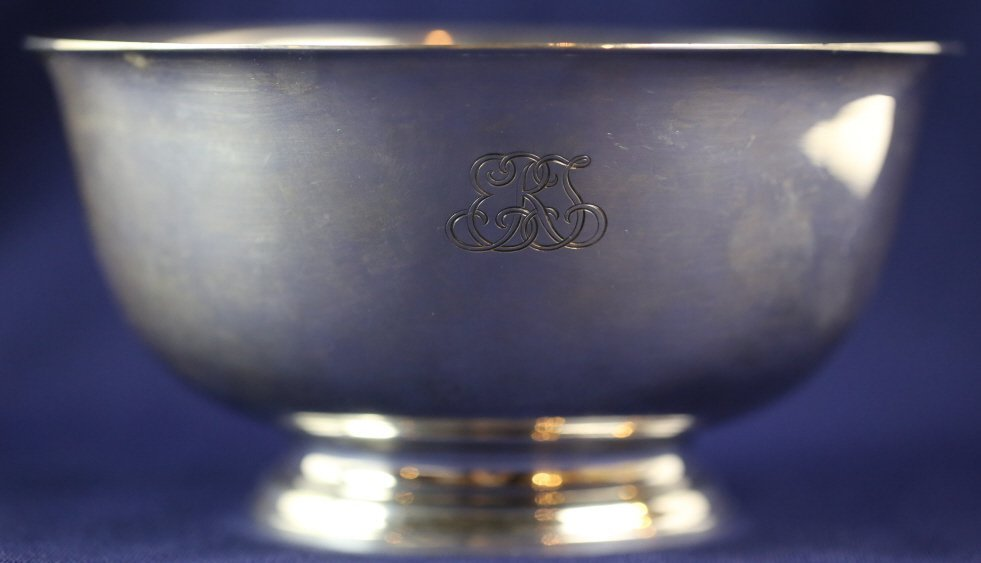 TIFFANY & CO. MAKERS STERLING SILVER BOWL - 2