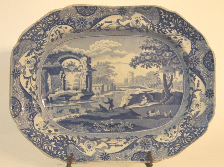 ENGLISH ANTIQUE PLATTER