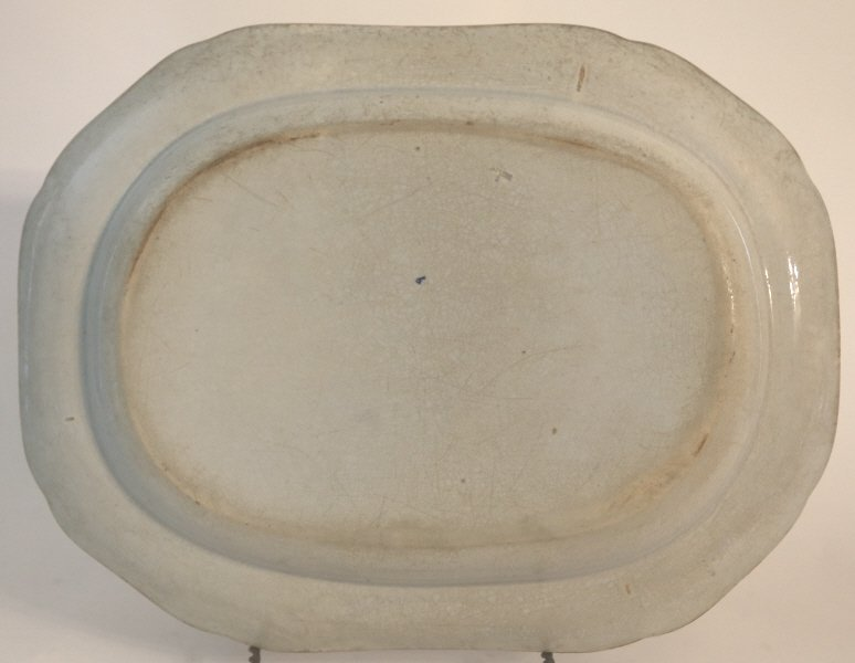 ENGLISH ANTIQUE PLATTER - 2