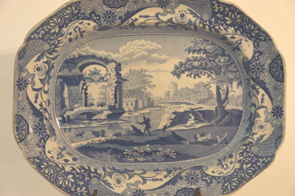 ENGLISH ANTIQUE PLATTER - 3