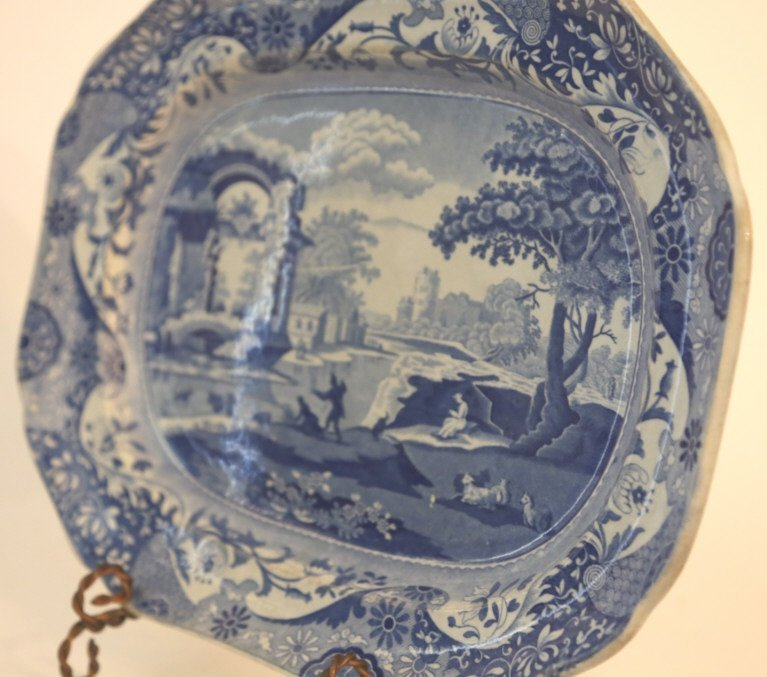 ENGLISH ANTIQUE PLATTER - 5