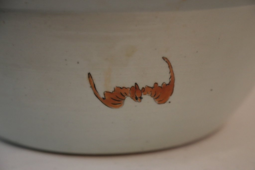 CHINESE ANTIQUE EXPORT PUNCH BOWL - 4