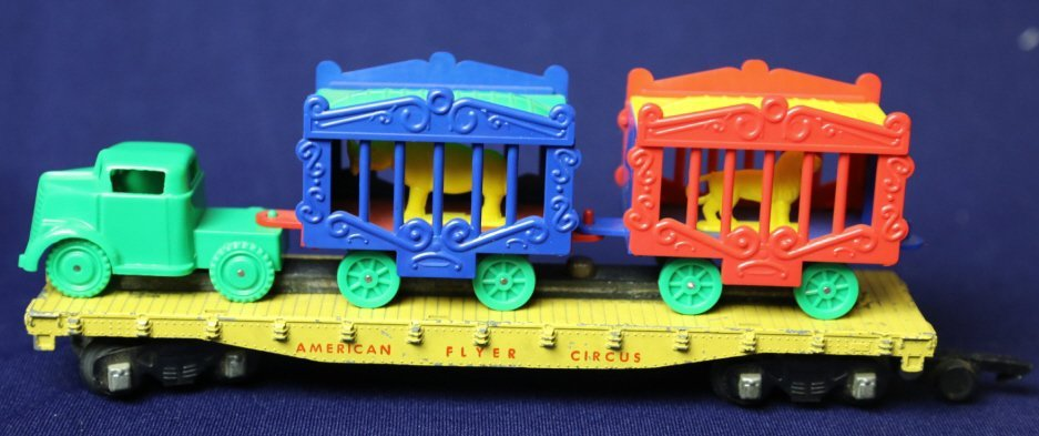 AMERICAN FLYER S GAUGE ANTIQUE CIRCUS CAR