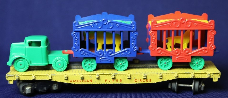 AMERICAN FLYER S GAUGE ANTIQUE CIRCUS CAR - 2