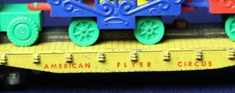 AMERICAN FLYER S GAUGE ANTIQUE CIRCUS CAR - 3