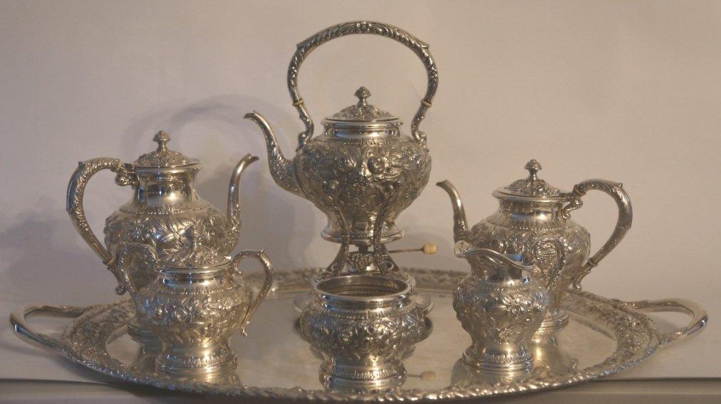 S. KIRK & SON BALTIMORE STERLING REPOUSSE SERVICE