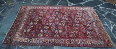 ANTIQUE PERSIAN HAND WOVEN ROOM SIZE RUG
