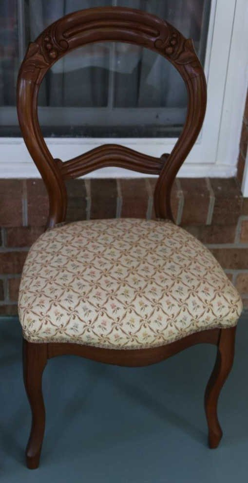ANTIQUE VICTORIAN WALNUT PARLOR CHAIRS - 4