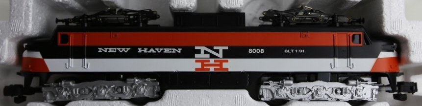 AMERICAN FLYER NEW HAVEN 8008 POWER LINE ENGINE