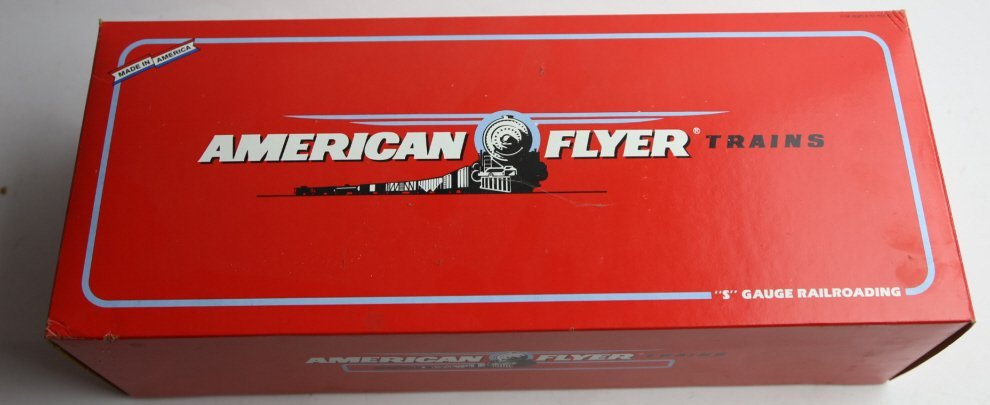 AMERICAN FLYER NEW HAVEN 8008 POWER LINE ENGINE - 3