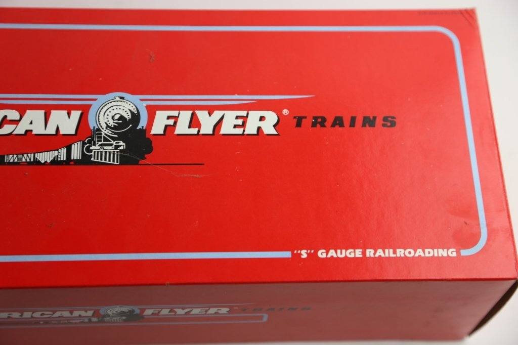 AMERICAN FLYER NEW HAVEN 8008 POWER LINE ENGINE - 6