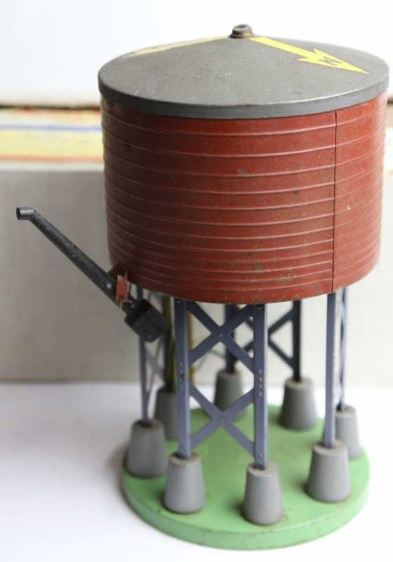 AMERICAN FLYER VINTAGE WATER TOWER W/ BOX - 3