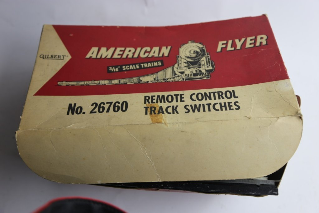 AMERICAN FLYER VINTAGE TRACK SWITCH GROUPING - 2