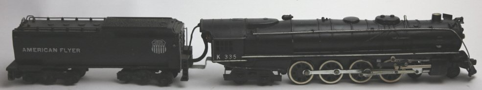 AMERICAN FLYER LINES K335 STEAM ENGINE & TENDER