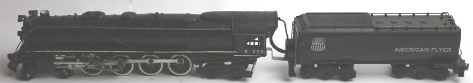 AMERICAN FLYER LINES K335 STEAM ENGINE & TENDER - 2