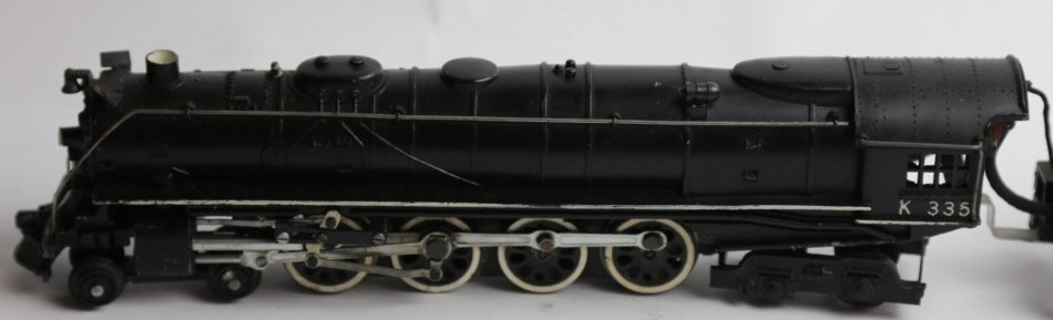 AMERICAN FLYER LINES K335 STEAM ENGINE & TENDER - 4
