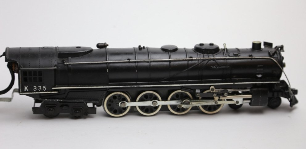AMERICAN FLYER LINES K335 STEAM ENGINE & TENDER - 6