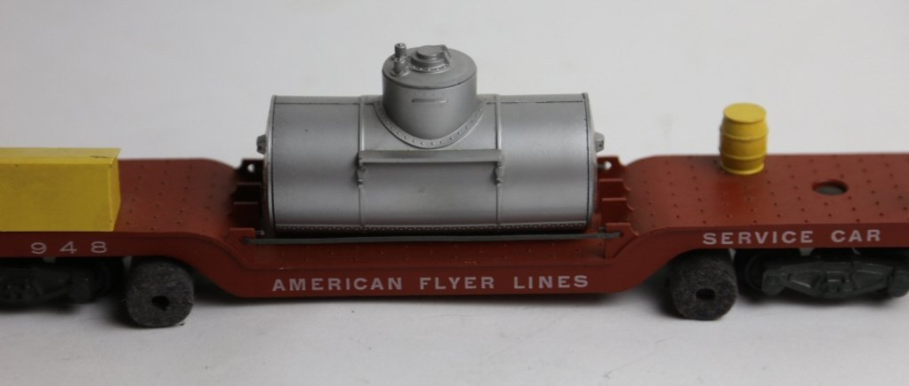 AMERICAN FLYER LINES  948 SERVICE CAR - 3