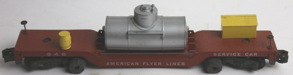 AMERICAN FLYER LINES  948 SERVICE CAR - 4