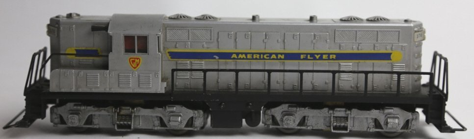 AMERICAN FLYER GM DEISEL ENGINE S GAUGE - 3