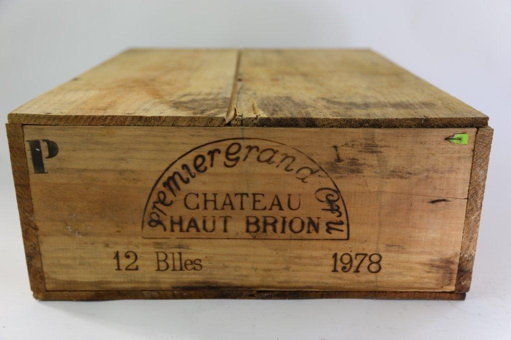 CASE OF CHATEAU HAUT-BRION 1978