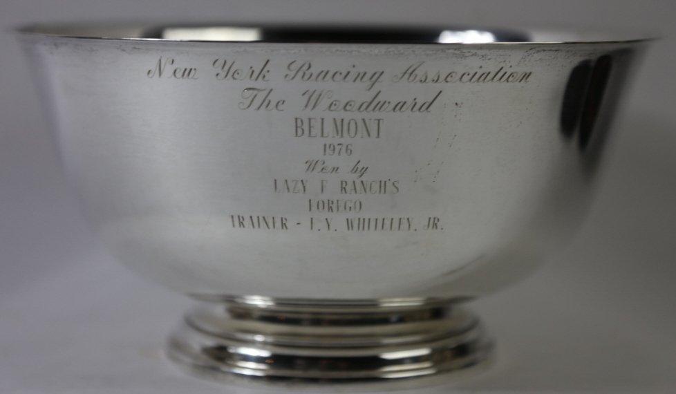 NEW YORK RACING ASSOCIATION BELMONT TROPHY BOWL