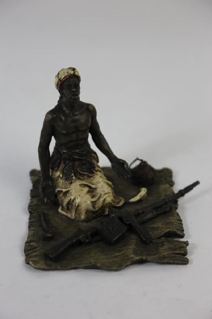 FRANZ XAVIER BERGMANN (1861-1936) BRONZE - 11