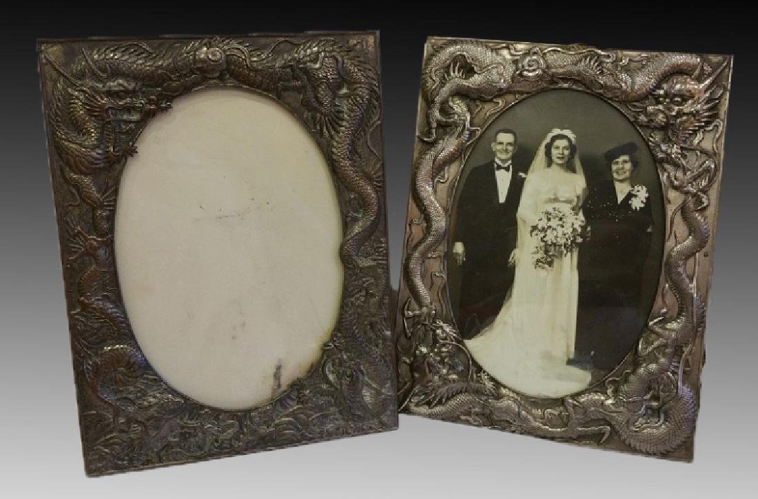 CHINESE ANTIQUE  DRAGON PICTURE FRAMES