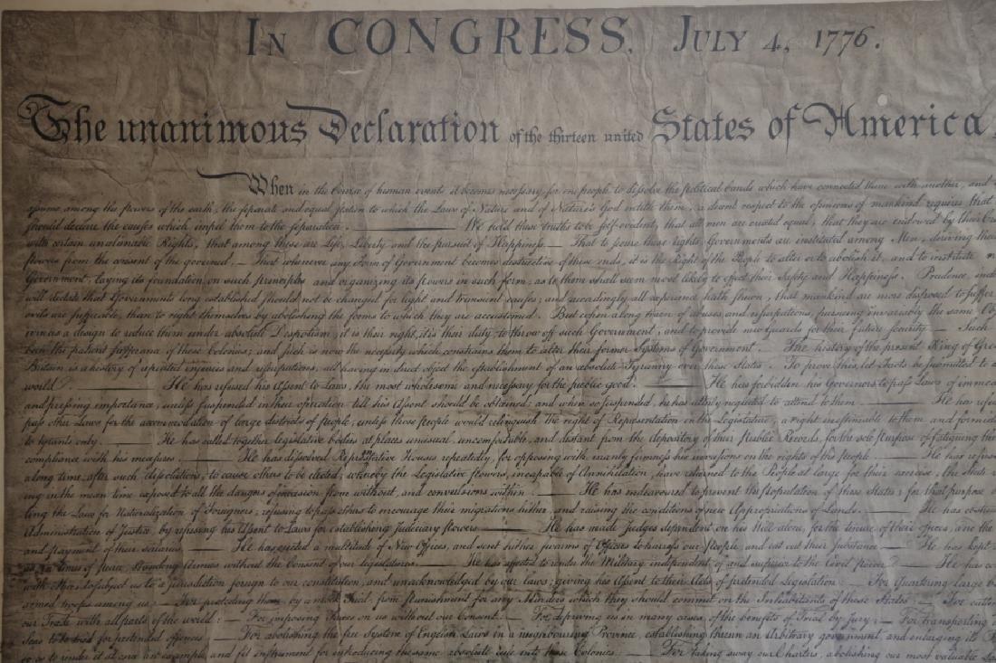 US ANTIQUE DECLARATION OF INDEPENDENCE - 3