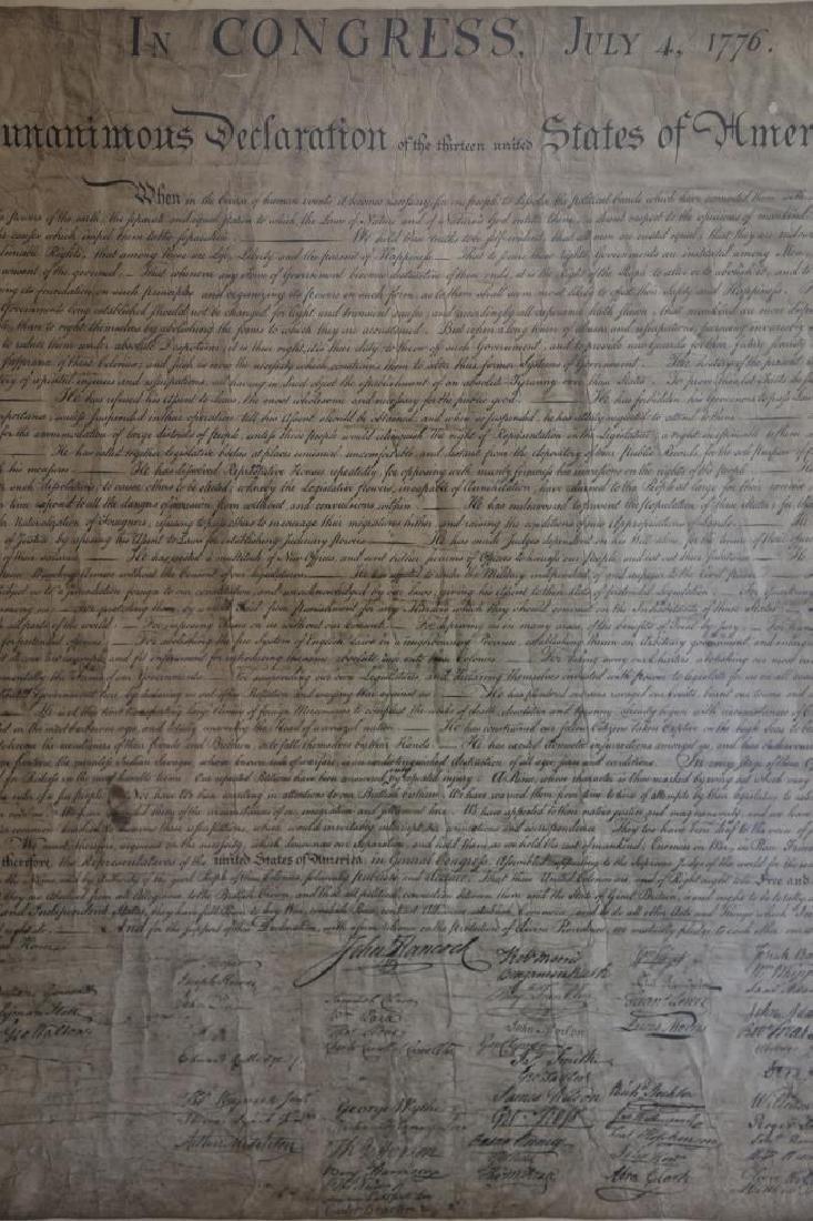US ANTIQUE DECLARATION OF INDEPENDENCE - 6