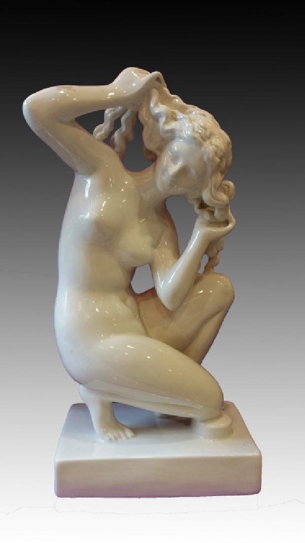 APHRODITE PORCELAIN SCULPTURE