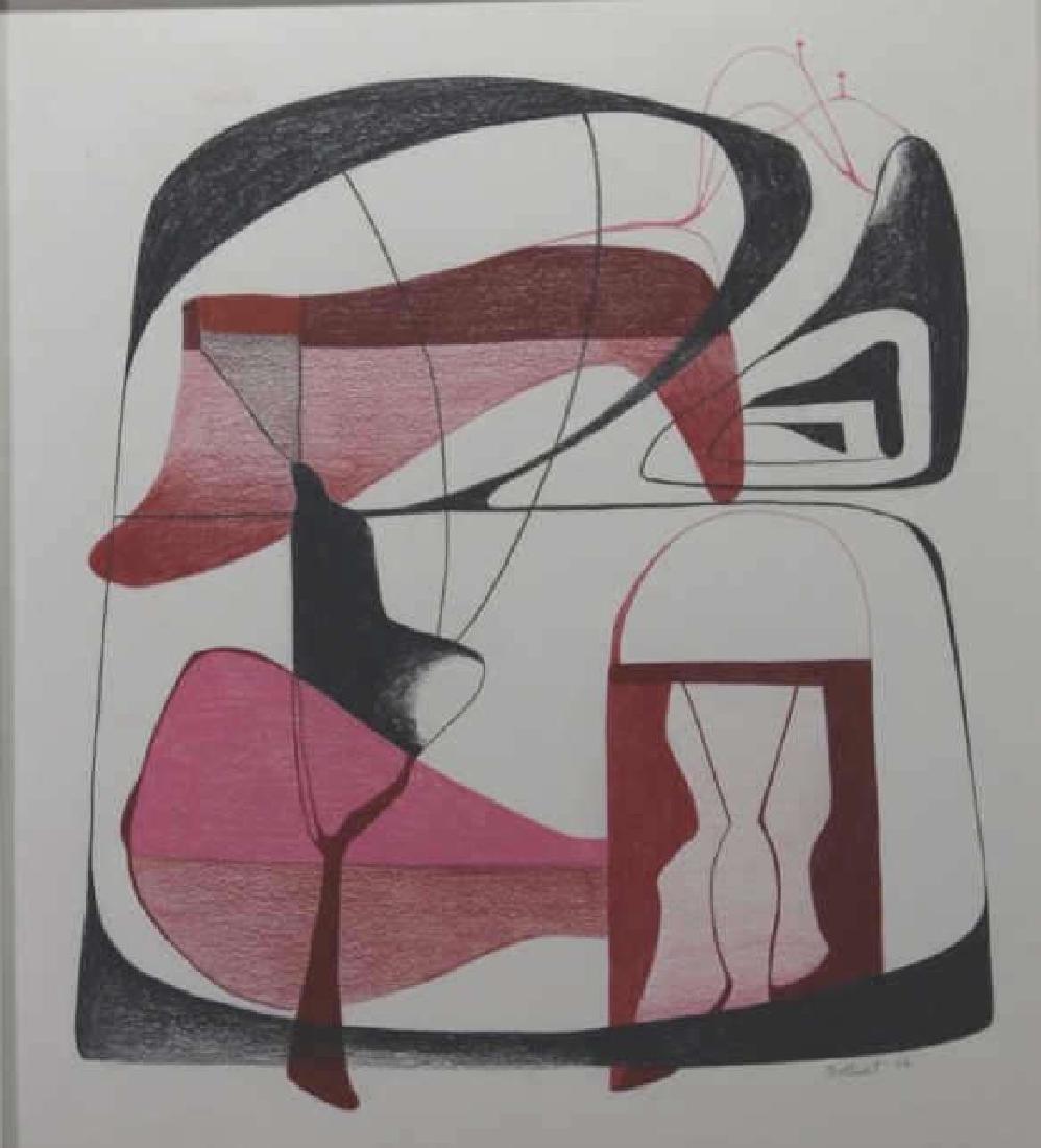 DORR BOTHWELL(AMERICAN 1902-2000) MODERN ABSTRACT