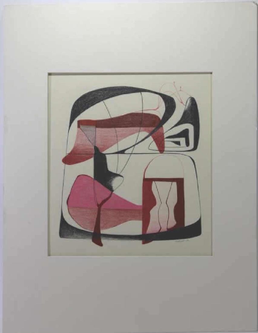 DORR BOTHWELL(AMERICAN 1902-2000) MODERN ABSTRACT - 7