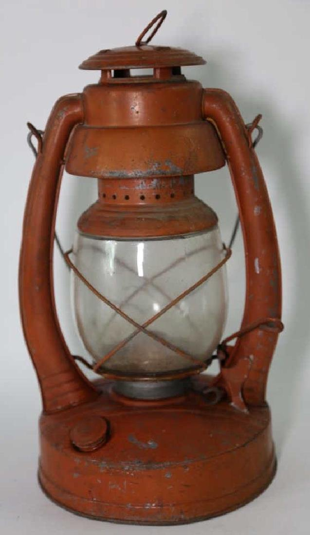 ELGIN ANTIQUE RAILROAD OIL LANTERN - 2