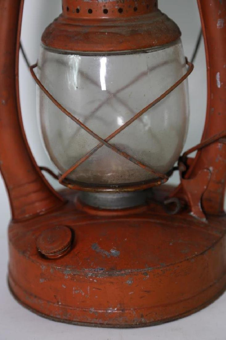 ELGIN ANTIQUE RAILROAD OIL LANTERN - 6