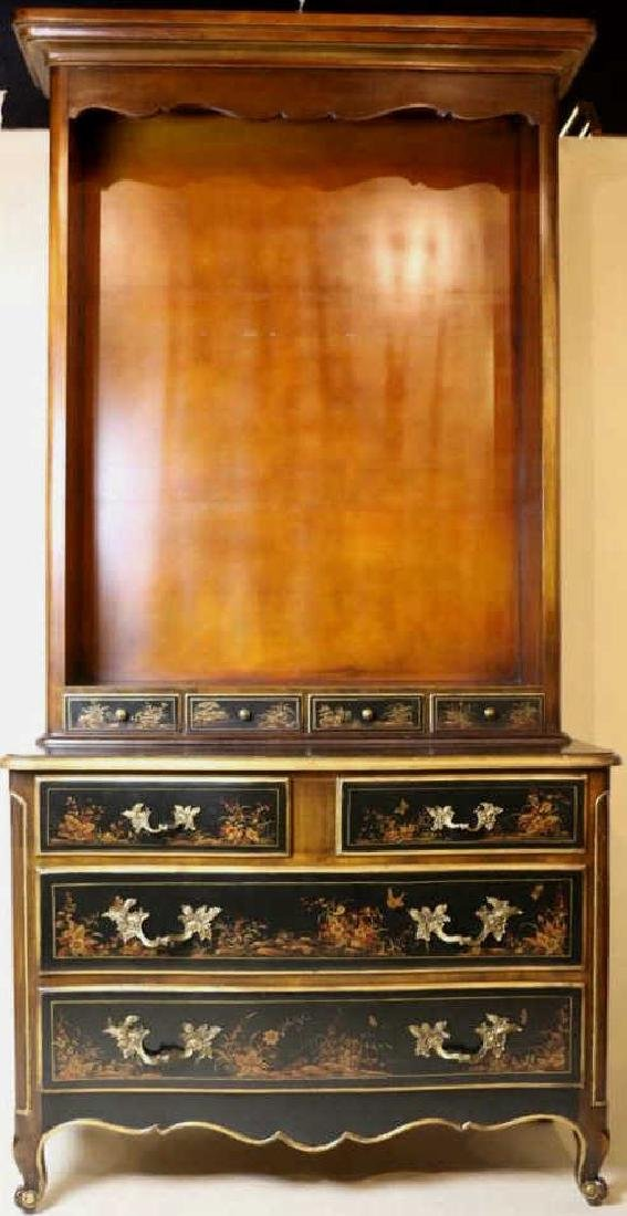 MAITLAND SMITH CHINOISERIE CLASSICAL ETAGERE