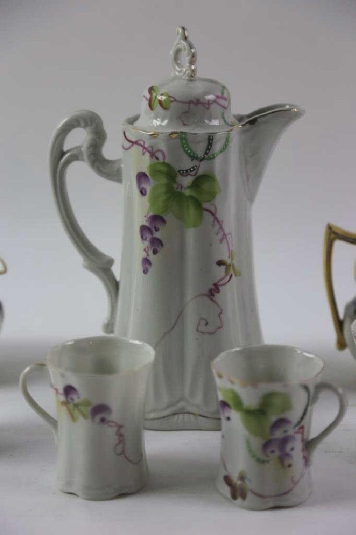 FRENCH LIMOGE PORCELAIN TEA  SERVICE - 2