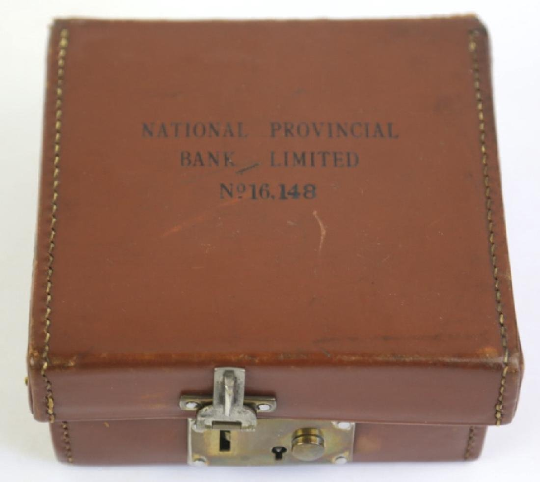 NATIOINAL PROVENCIAL BANK LINITED LEATHER CASE