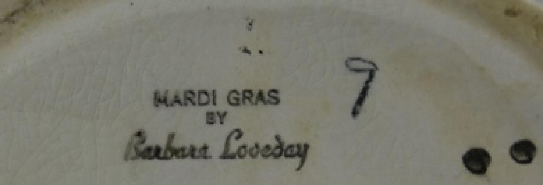 GOLDSCHIEDER MARDI GRAS PAIR OF FIGURINES - 9