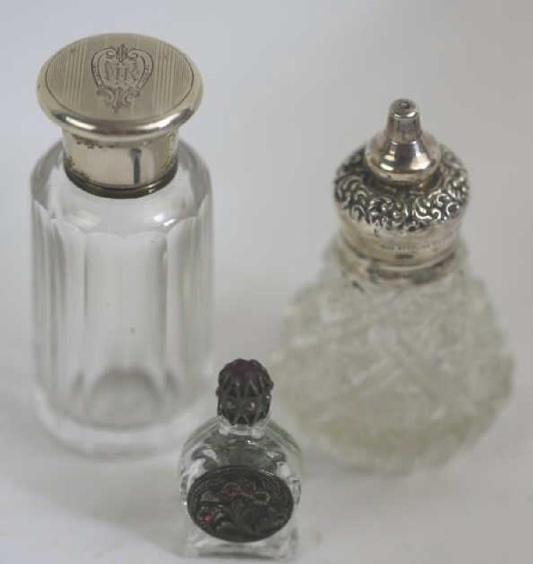 STERLING SILVER ANTIQUE LADIES VANITY GROUPING