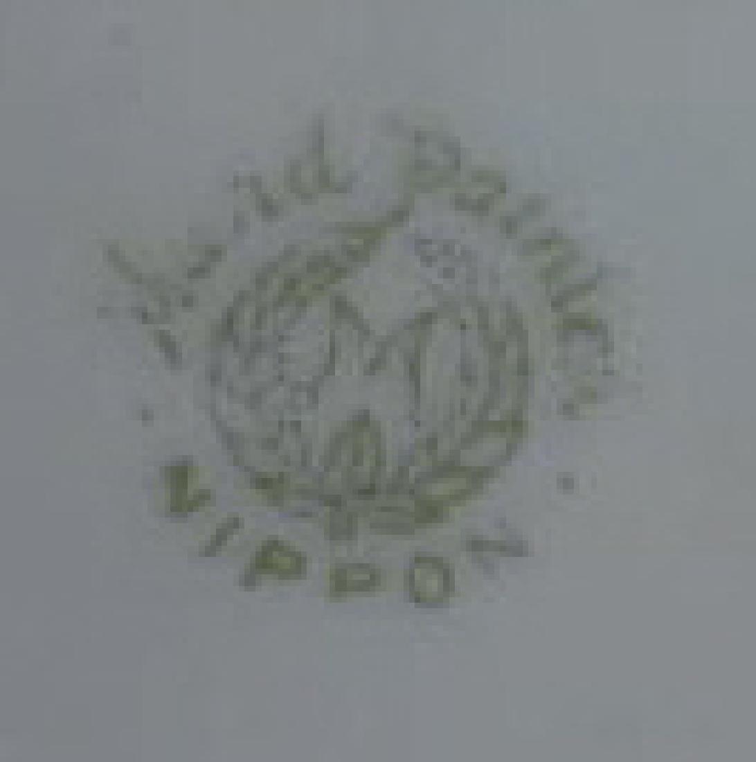 NIPPON SATIN FINISH RIBBON HANDLED VASE - 8