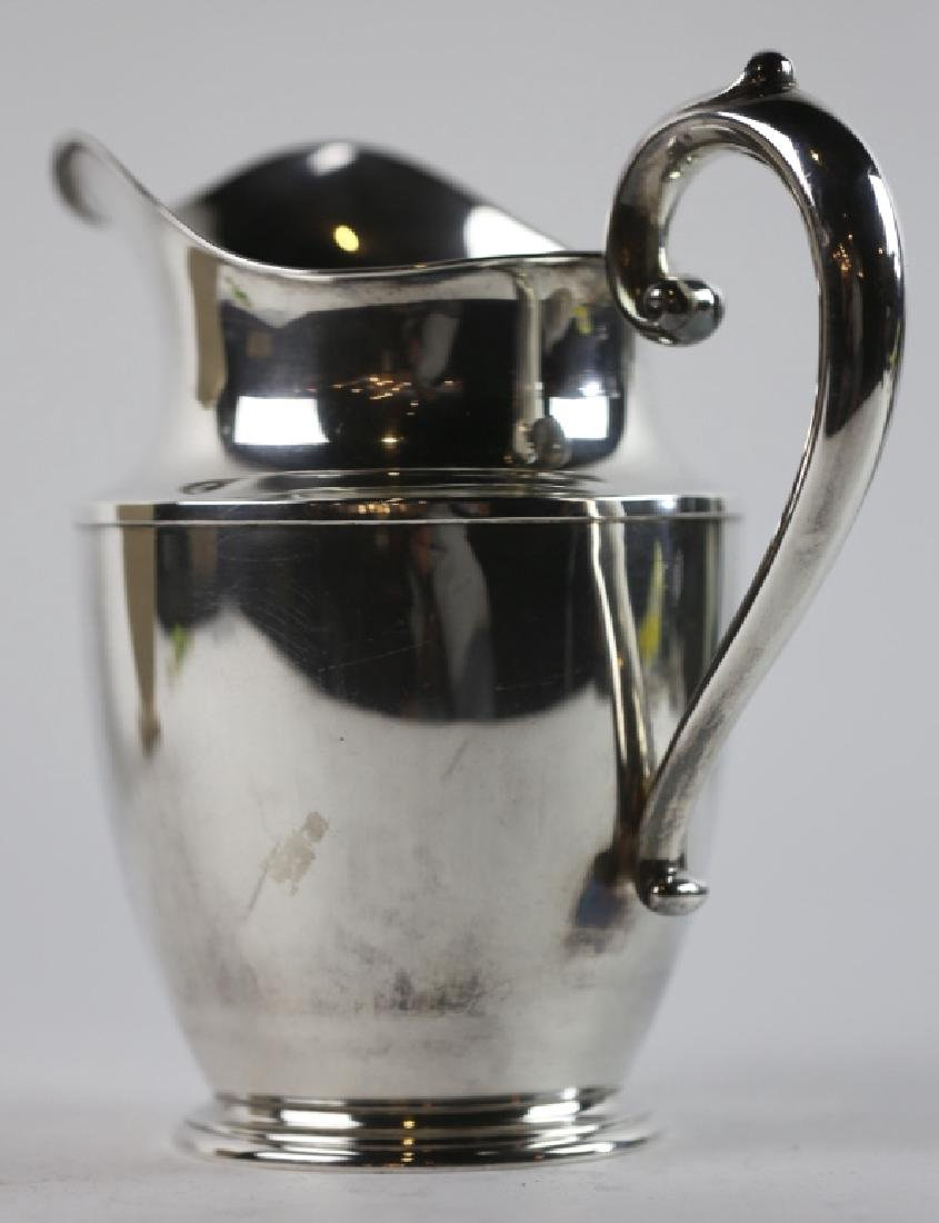 STERLING SILVER WATER PITCHER  BY WALLACE - 2