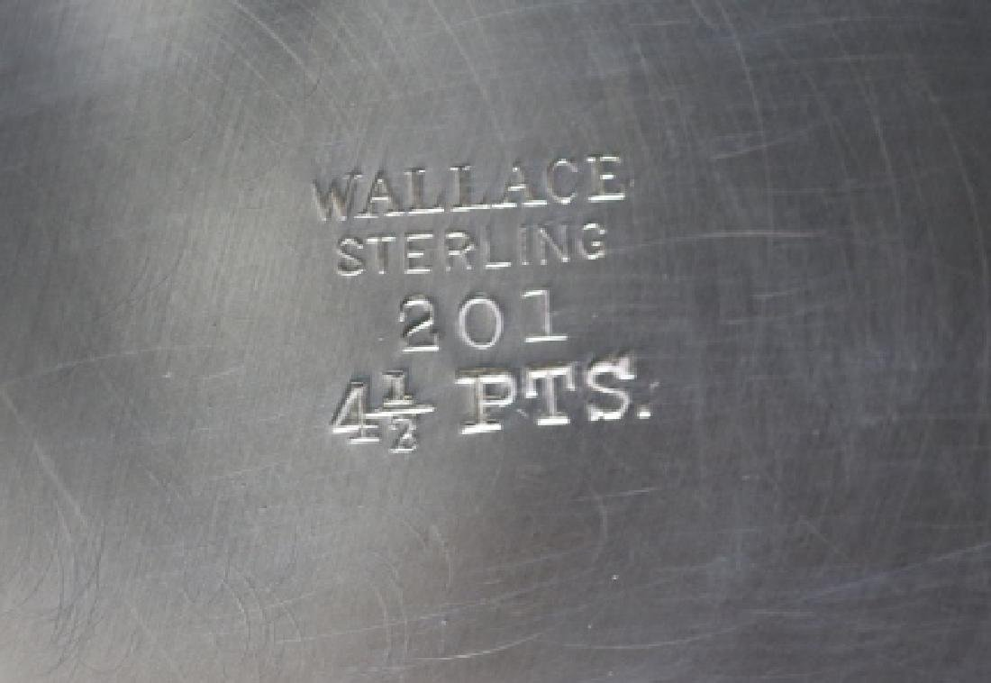 STERLING SILVER WATER PITCHER  BY WALLACE - 3