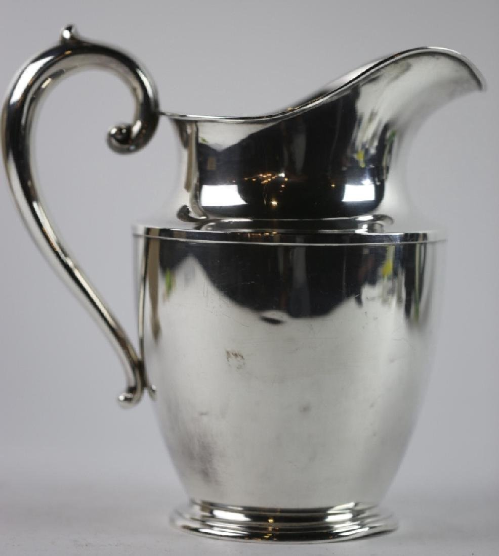 STERLING SILVER WATER PITCHER  BY WALLACE - 4
