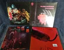 502: Four Vinyl LP records Rock, Metal