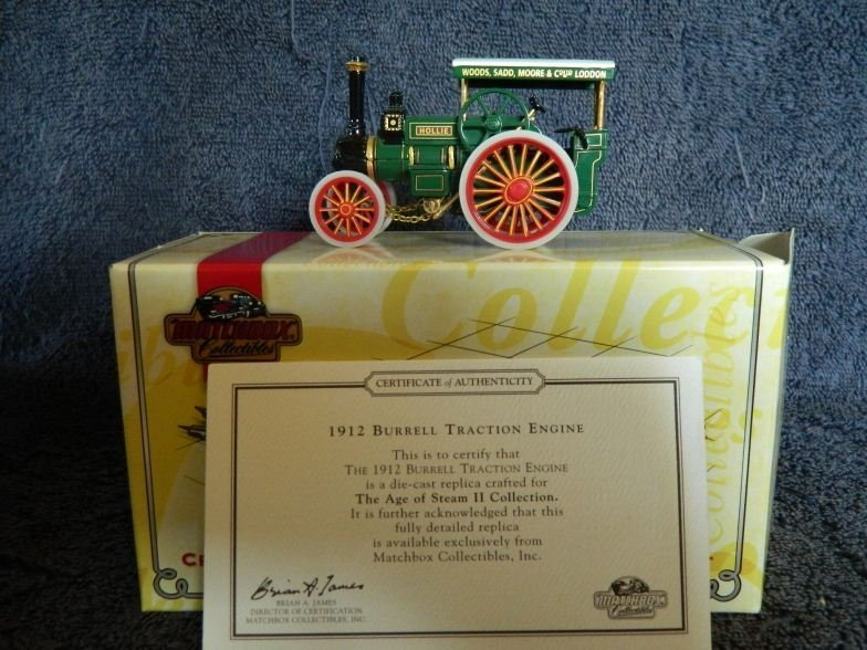 4: Matchbox 1912 Burrell traction engine