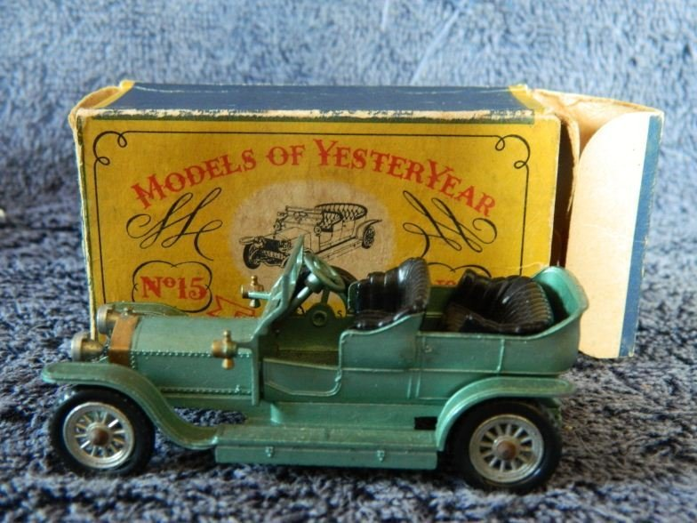 5: Models of Yesteryear by Lesney No 15 Rolls Royce Sil